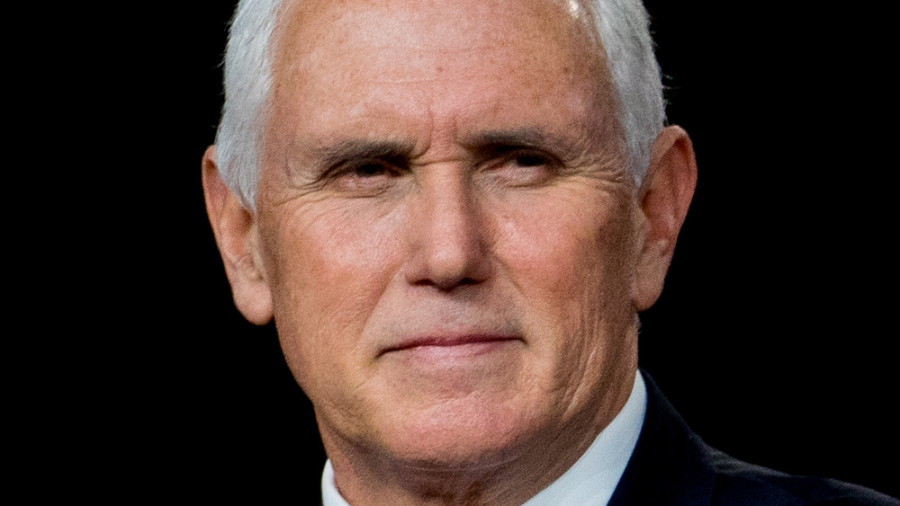 Mike Pence at an event