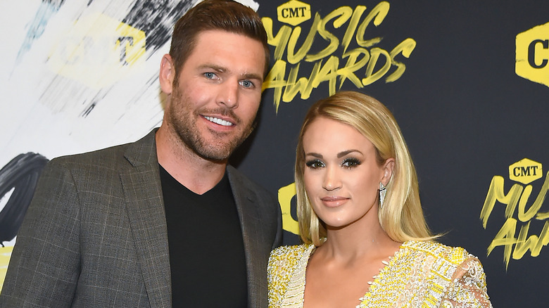 singer Carrie Underwood and husband Mike Fisher