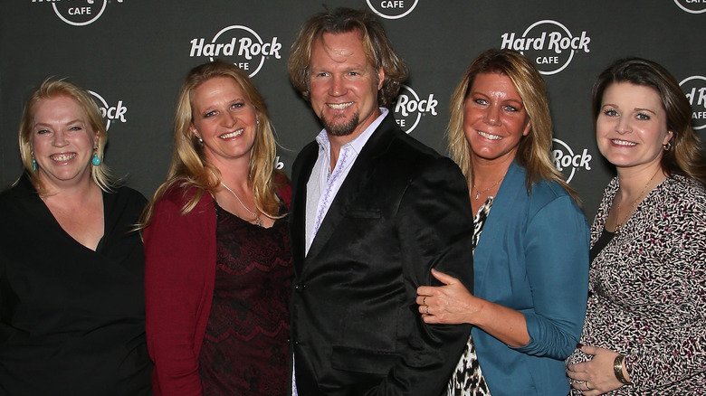 Kody Brown and his wives from 'Sister Wives'