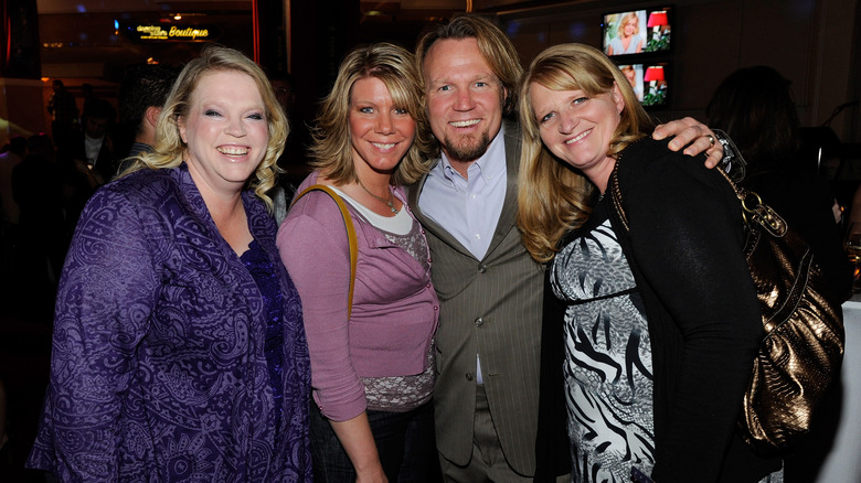Sister wives cast minus Robyn Brown