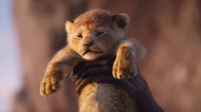 Simba in The Lion King (2019)