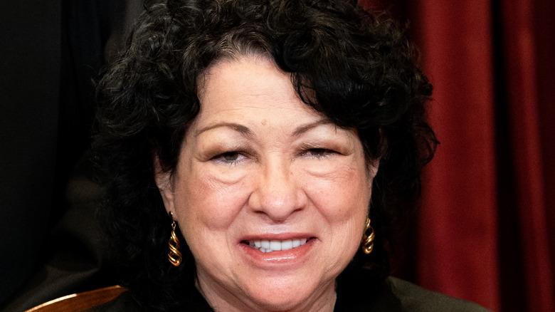 Sonia Sotomayor smiling