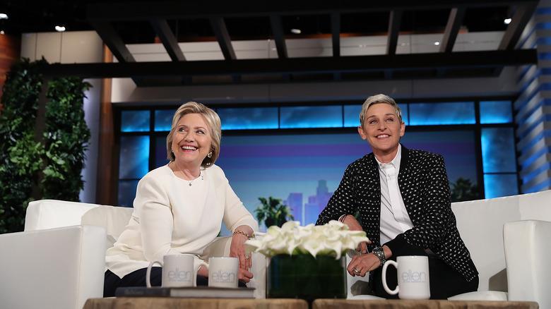 Ellen DeGeneres Hillary Clinton