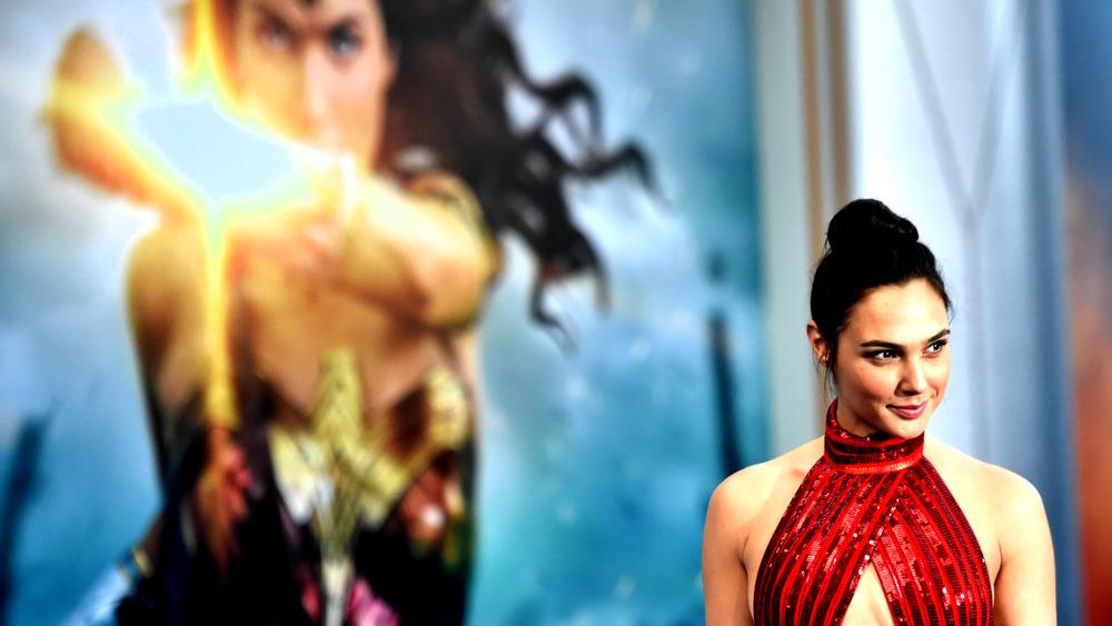 Gal Gadot at Wonder Woman event