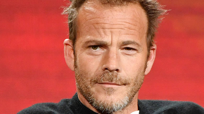 Stephen Dorff speaks onstage at an event