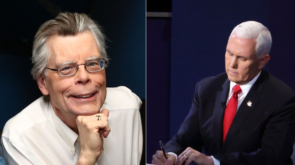 Author Stephen King sees the fly in Mike Pence's hair