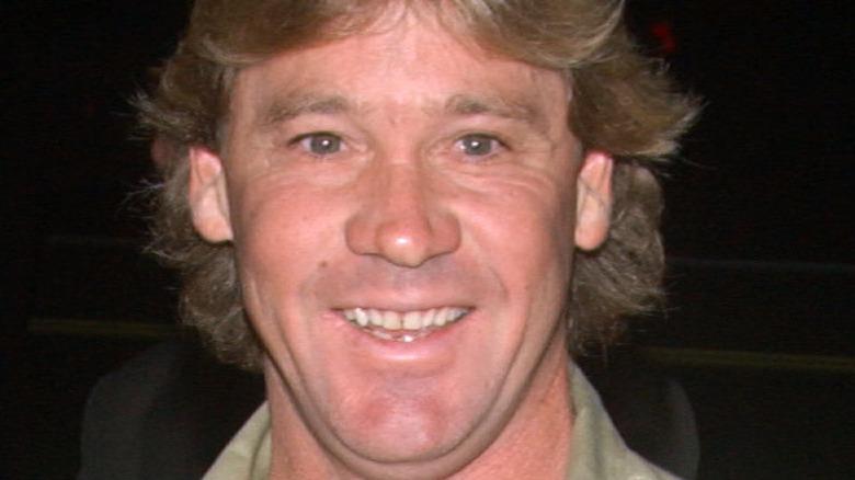 Steve Irwin smiling