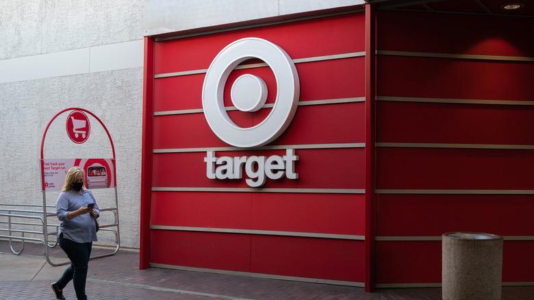 Shopping at Target Store