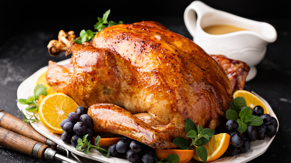 Thanksgiving turkey and gravy