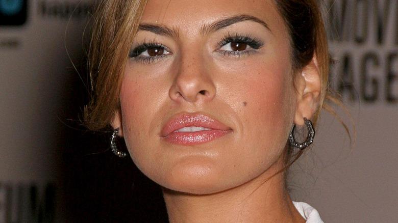 Eva Mendes looking radiant