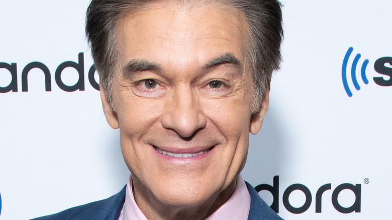 Dr. Oz smiling at event