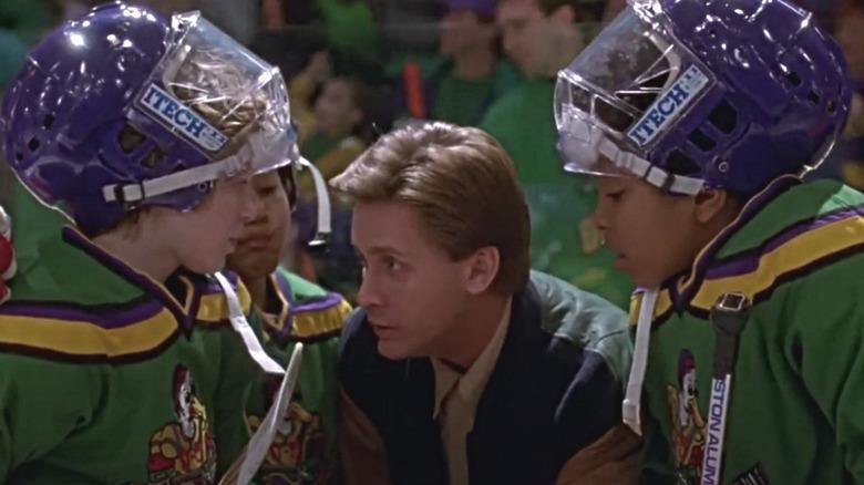 Emilio Estevez in Mighty Ducks