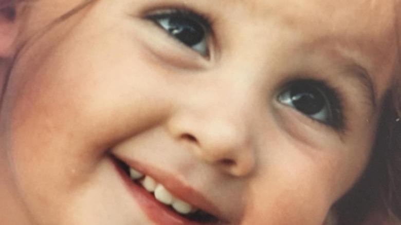 Alisan Porter as a child