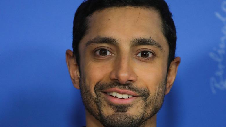 Riz Ahmed smiling