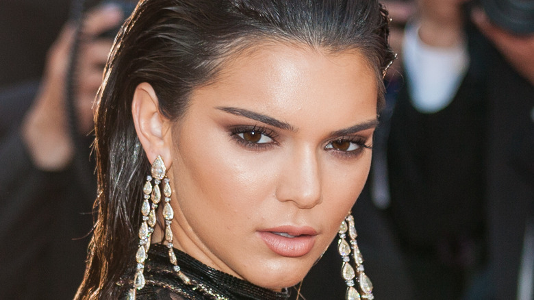 Kendall Jenner poses on the red carpet