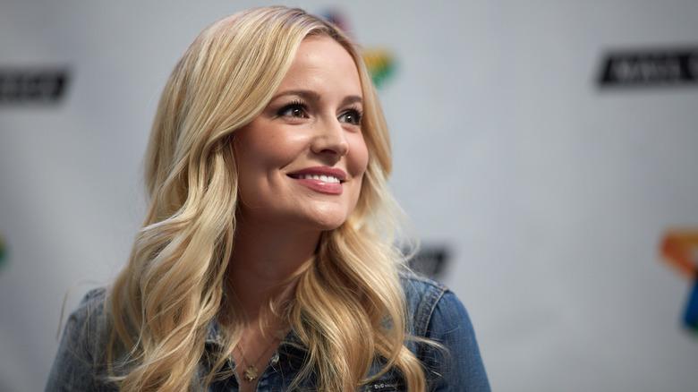 Bachelorette Emily Maynard smiling