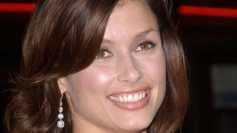 Actor Bridget Moynahan smiling