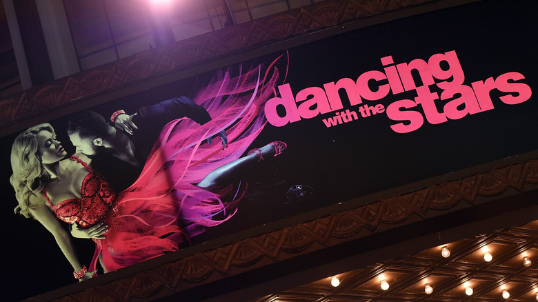 Dancing with the Stars logo display