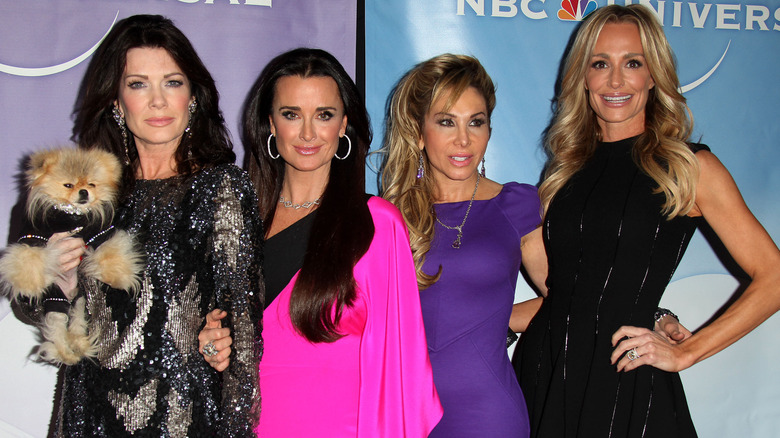 Real Housewives of Beverly Hills cast members on red carpet