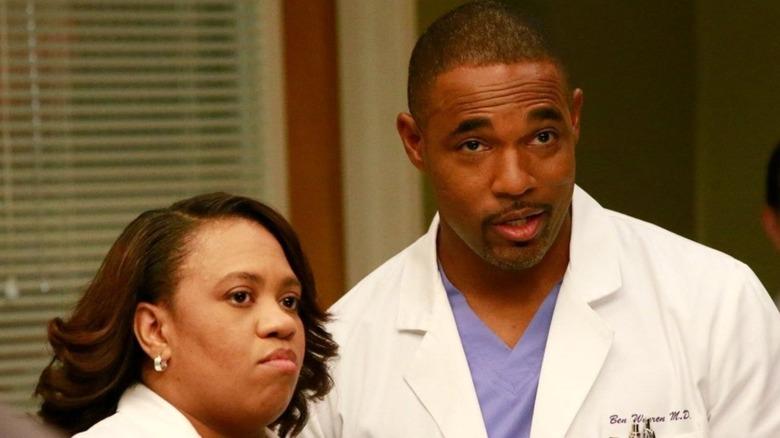 Ben and Bailey on Grey's Anatomy