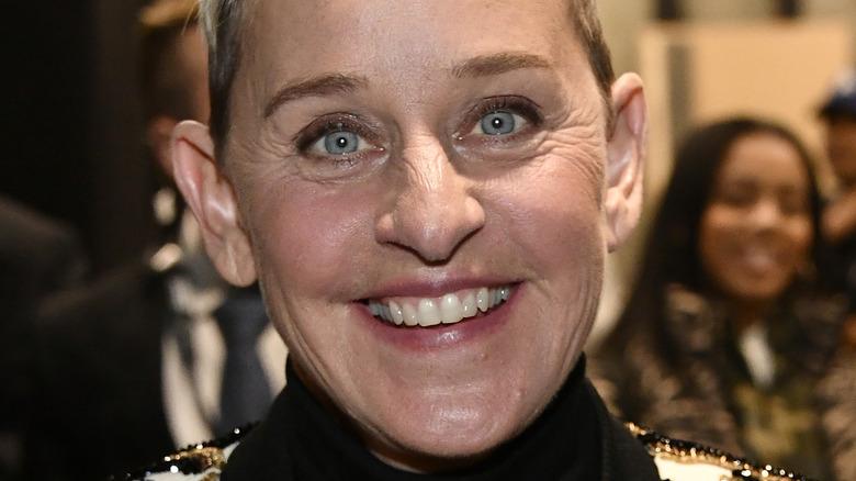 Ellen DeGeneres close-up