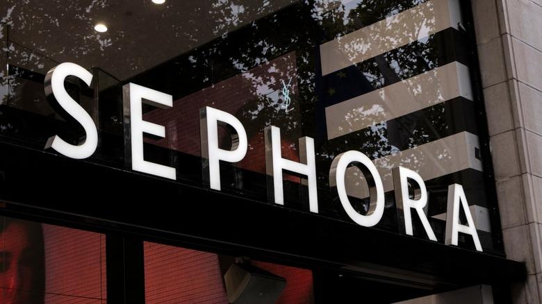 Sephora makeup storefront