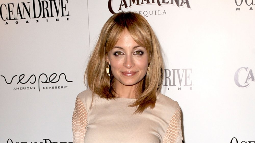 Nicole Richie with bangs