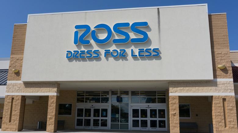 Ross Dress for Less storefront