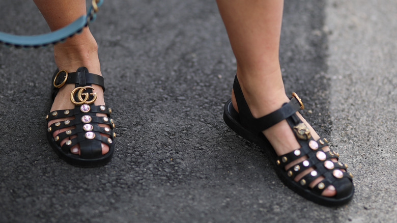 gucci slide sandal