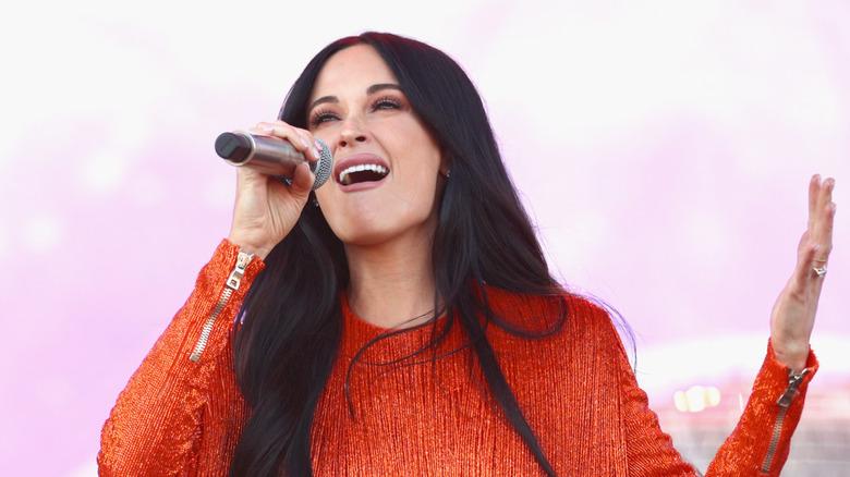 Kacey Musgraves at Coachella 2019 close-up