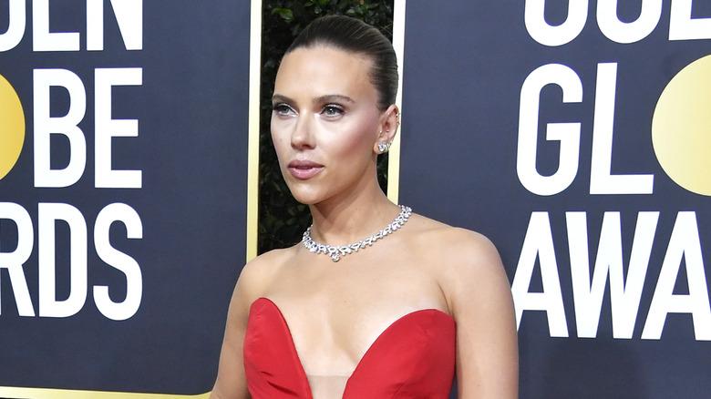 Scarlett Johansson at the 2020 Golden Globes