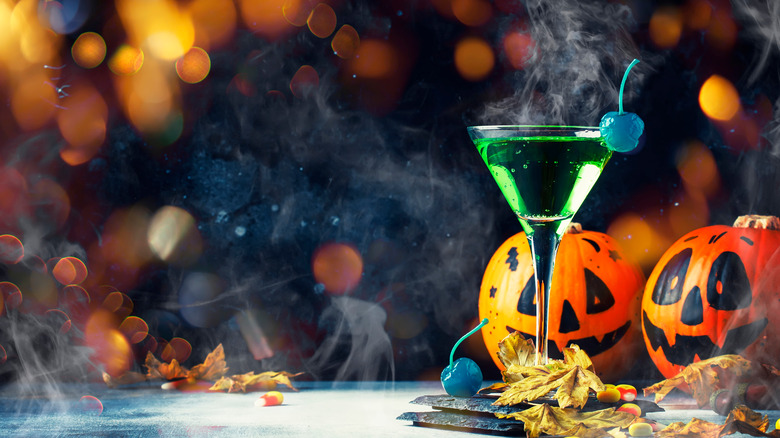 Halloween party cocktail