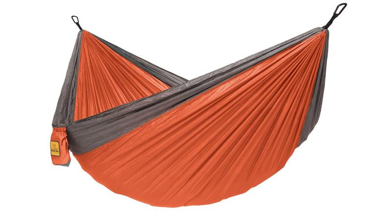 Wise Owl orange and gray hammock