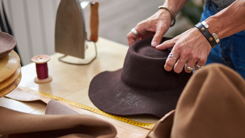 Choosing a hat
