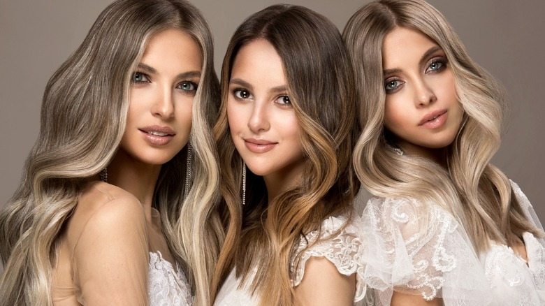 Hairstyles with blond highlights