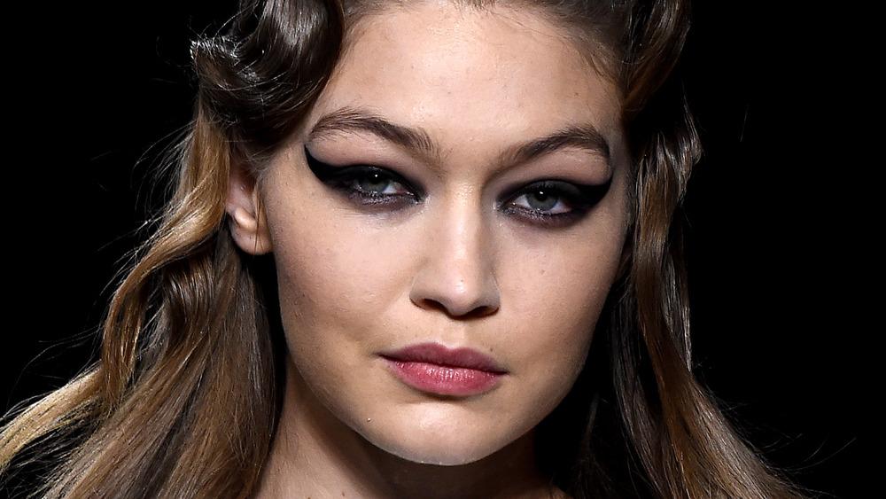 Gigi Hadid at Paris Fashion Week