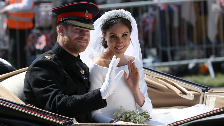 Prince Harry and Meghan Markle'