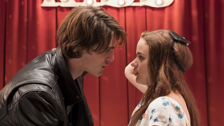 The Kissing Booth Noah and Elle first kiss