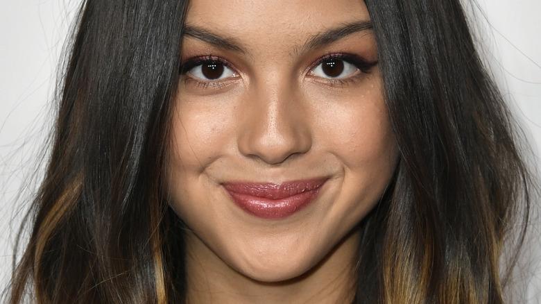 Olivia Rodrigo smiling