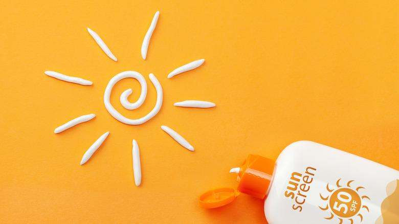 Sunscreen prevents sunburn