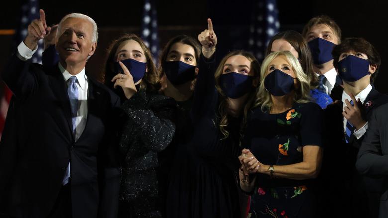 Joe Biden and family