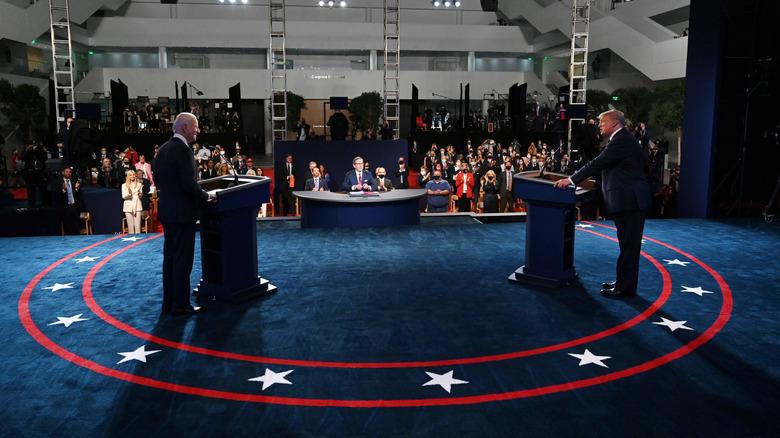 1st debate Biden / Trump