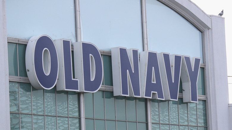 Old Navy store sign