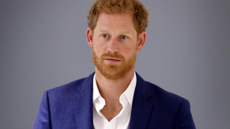 Prince Harry up close