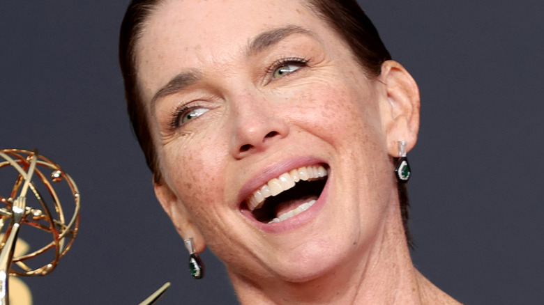 Julianne Nicholson laughing