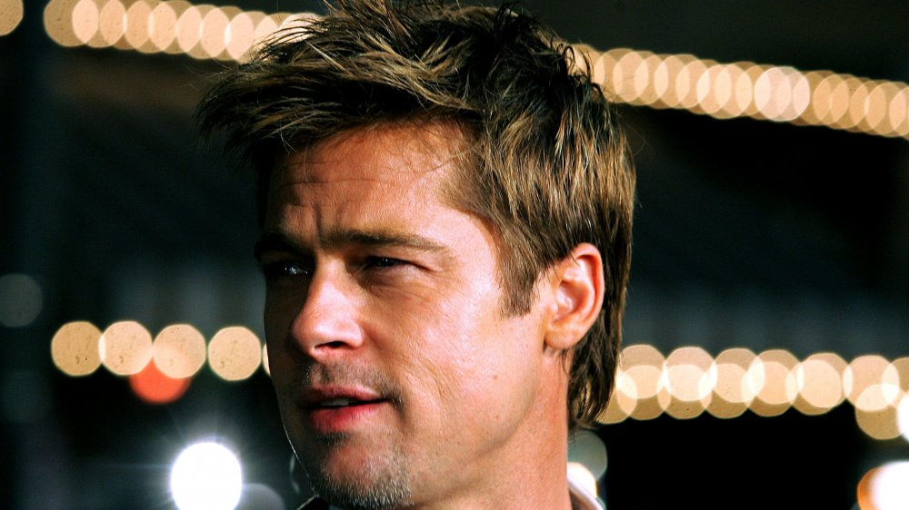 Brad Pitt at the premiere of Babel