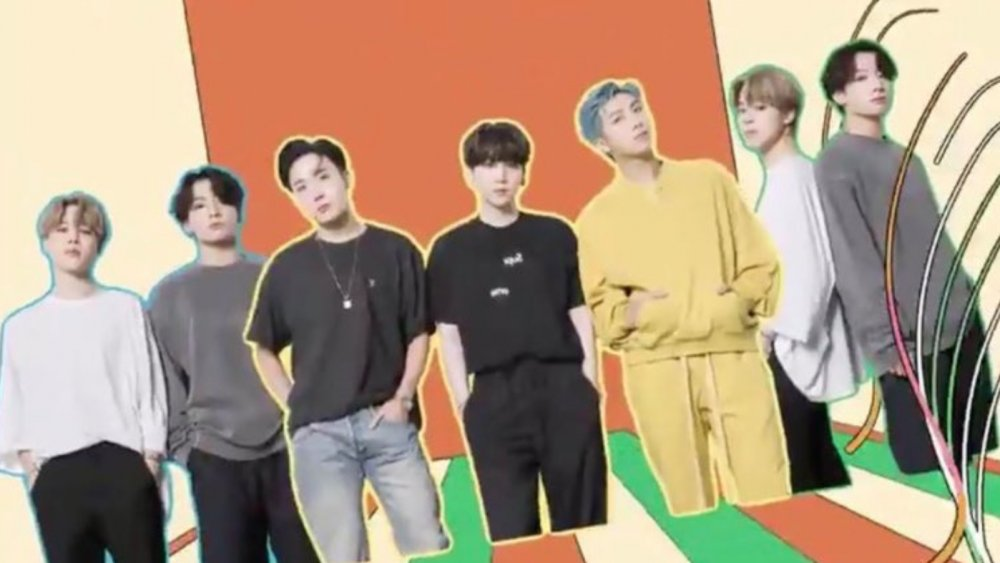 Controversial BTS slide