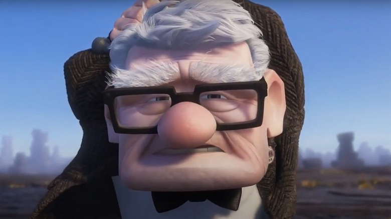 Carl from Pixar's Up