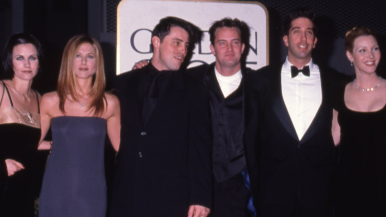 The cast of Friends attend an event together