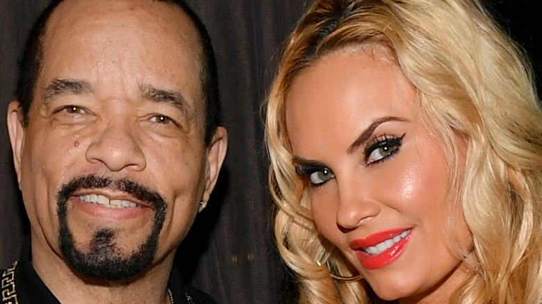 Ice-T and Coco smiling